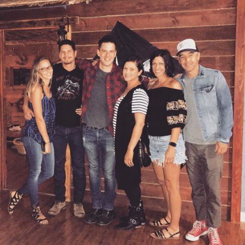 A photo of Emily's family.