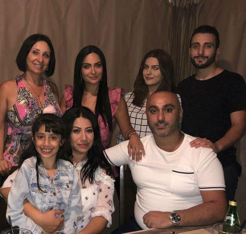 Ruzanna Khetchian's family photo.
