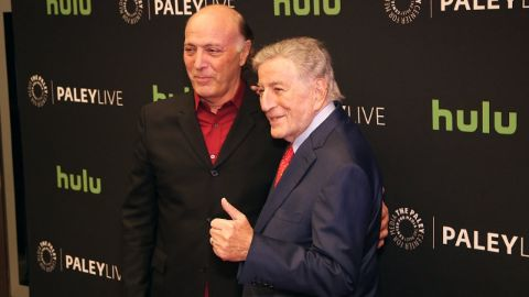 Tony and Danny Bennett at an event.