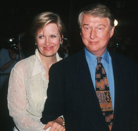 Diane Sawyer with her late husband Mike Nichols.