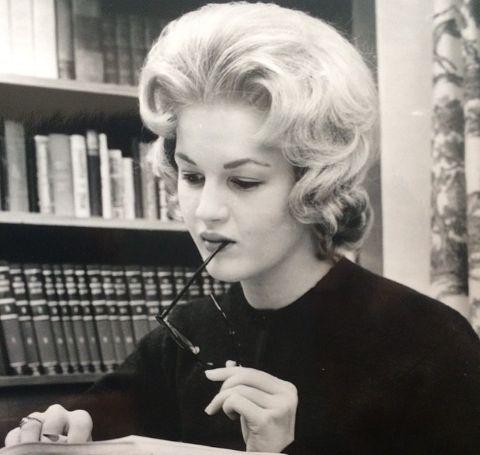 Diane Sawyer's photo of 1960s.