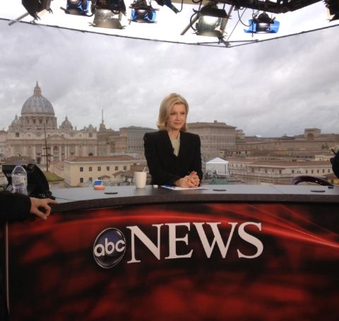 Diane Sawyer's Live Shot from ABC News.