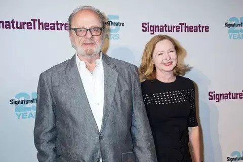 Harris Yulin with his wife Kristen Lowman.