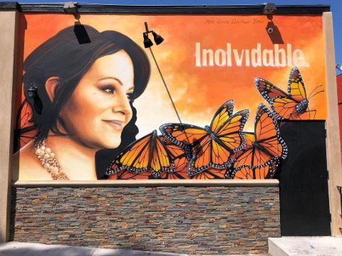 Jenni Rivera's Mural.