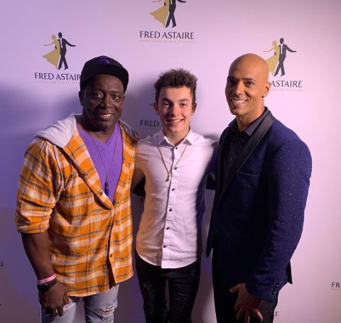 Billy Blanks, His Son, and Grandson.