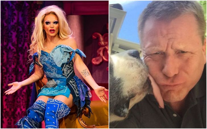 A collage of Bruce and Willam.