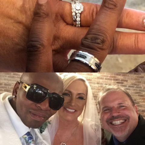Gayle Godfrey and Ramon Vincent's Wedding Rings.
