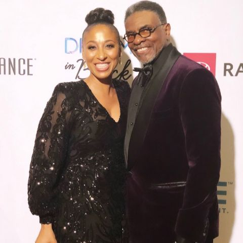 Keith David and Dionne Lea Williams at an event.