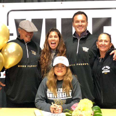 Madison Elizabeth McMahon Signed for Wake Forest Volleyball Team.