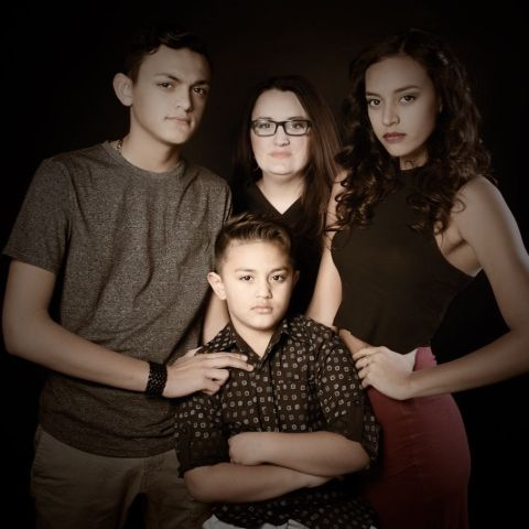 Sela Vave's Family photo.