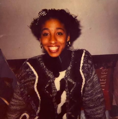 Young Dionne Lea Williams.